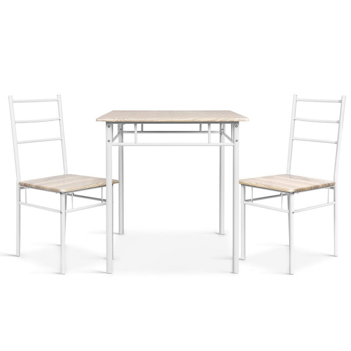 3 Piece Dining Set - Natural