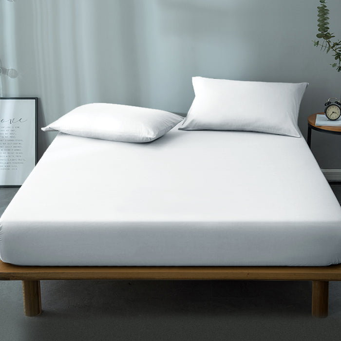 Bedding Double Size Waterproof Bamboo Mattress Protector