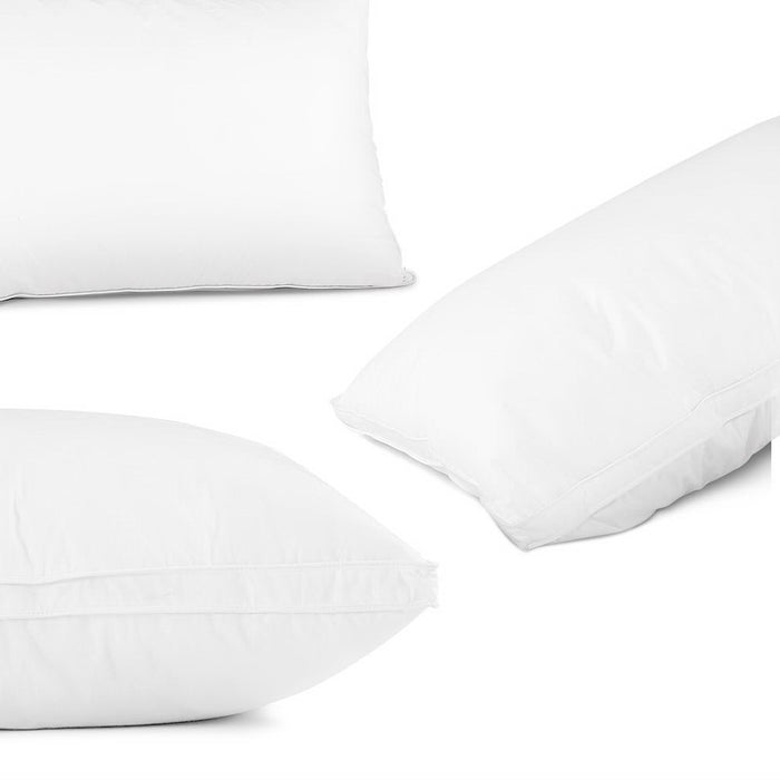 Bedding Goose Feather Down Twin Pack Pillow