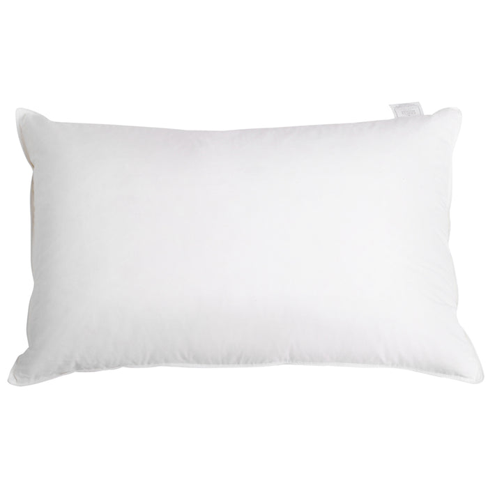 Bedding Set of 2 Goose Feather and Down Pillow - White