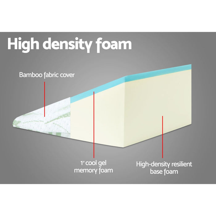 Bedding Foam Wedge Back Support Pillow