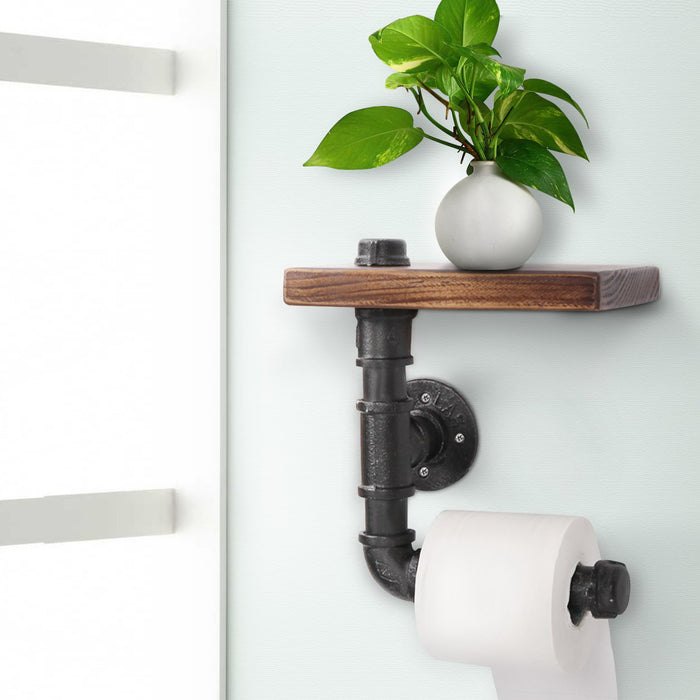 DIY Bathroom Toilet Roll Holder