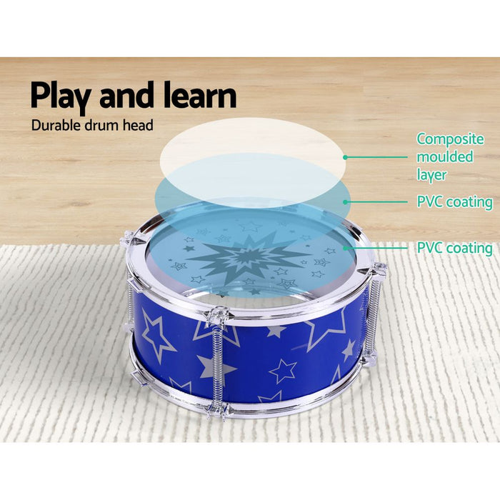 11 Piece Kids Drum Set