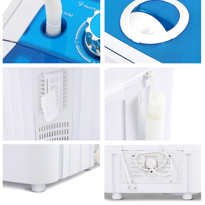 4.6KG Mini Portable Washing Machine