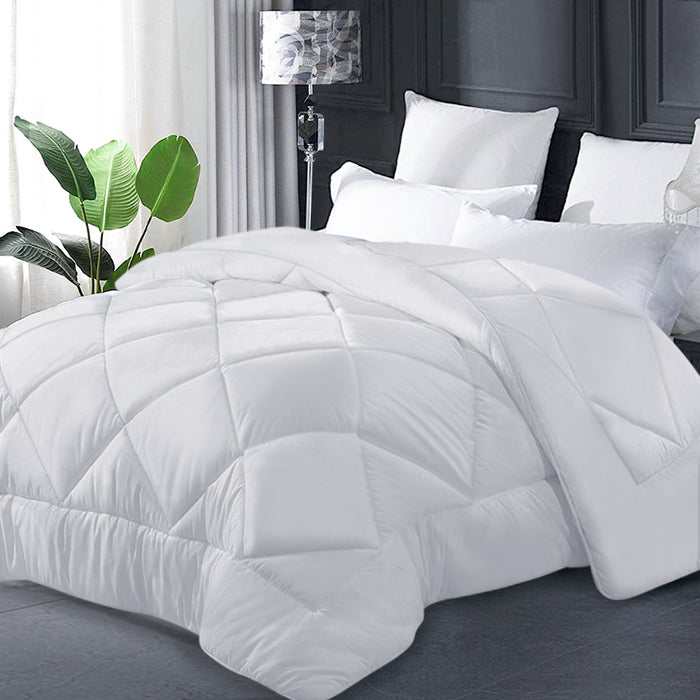 Bedding Super King Size 400GSM Microfibre Quilt