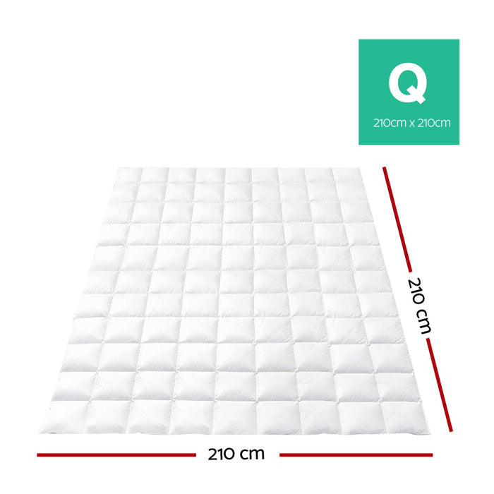 Bedding Queen Size Goose Down Quilt
