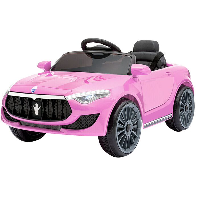 Maserati Kids Ride On Car -  Pink
