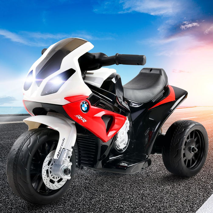 Kids Ride On Motorbike BMW Licensed S1000RR Motorcycle Car Red