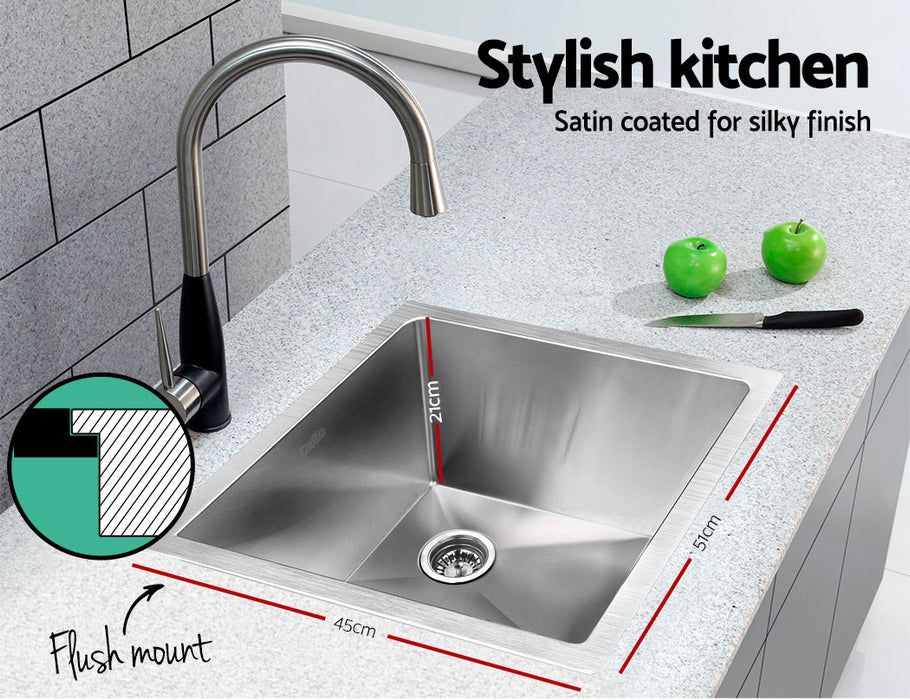 510 x 450mm Stainless Steel Sink