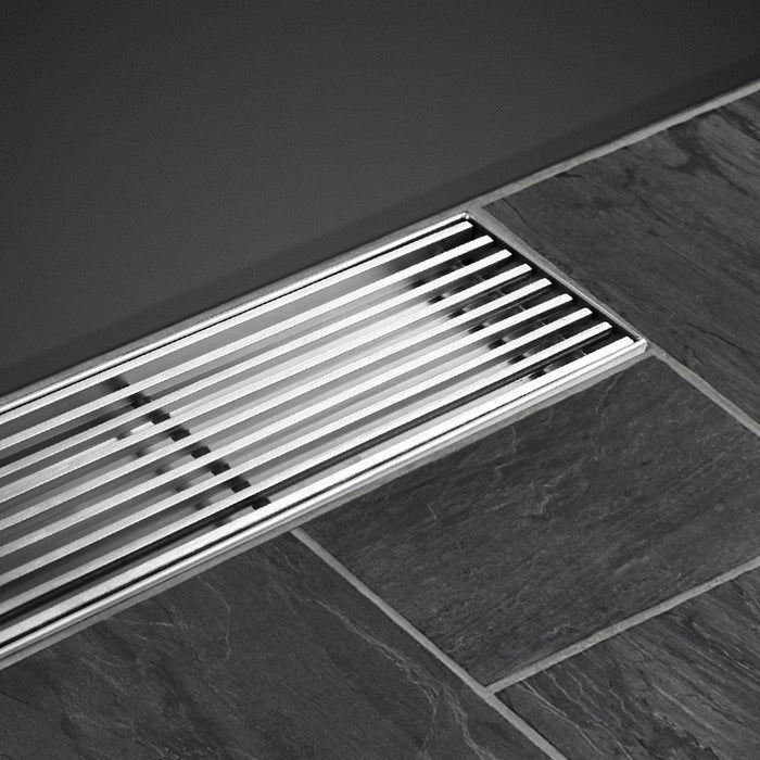 Bathroom 800mm Stainless Steel Shower Grate