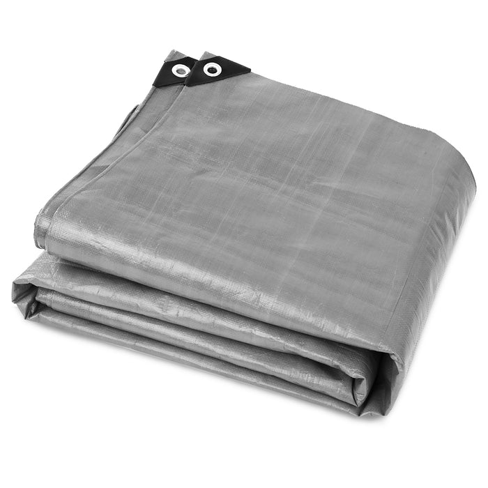 4.8 x 6m Heavy Duty Poly Tarp
