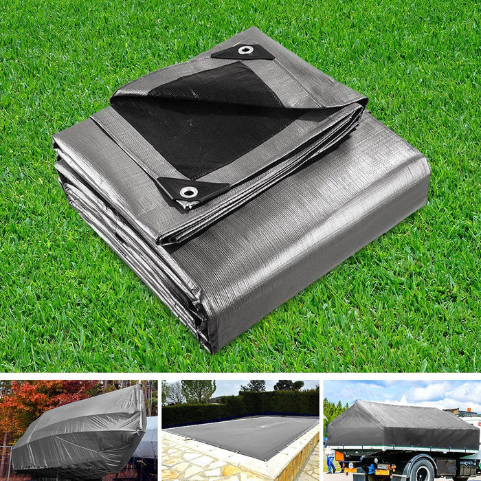6 x 9m Heavy Duty Poly Tarp