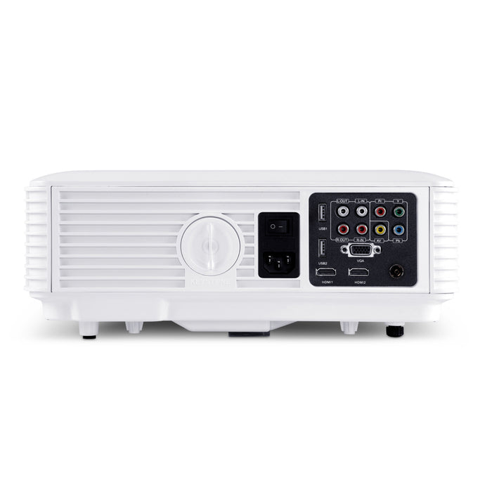 HD 1080P Video Projector 4000 Lumen LED Home Theatre Business Multimedia