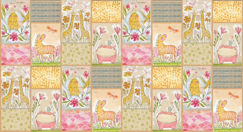 Image of Mini Menagerie (multi-panel print) - Blend - Cori Dantini - Hello World