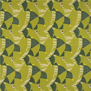 Image of Bird in Green - EE Schenk - Etsuko Furuya - Echino