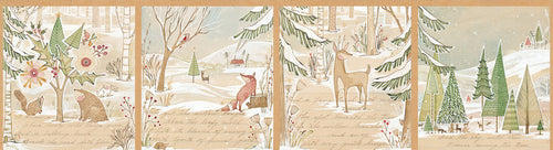 Image of A Day in the Forest Panel - Blend - Cori Dantini - Winter News