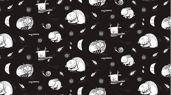Image of Hibernation in Black - Dear Stella - Rae Ritchie - Harvest Moon