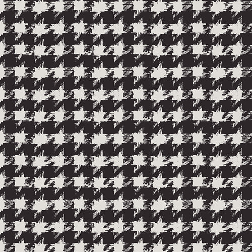 Image of Houndstooth XIV in Onyx - Art Gallery - Katarina Roccella - Decadence