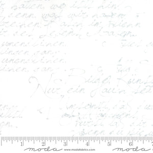 "Image of Handwriting 108"" Wideback 11133 12 in White - Moda - Zen Chic - Modern Background"