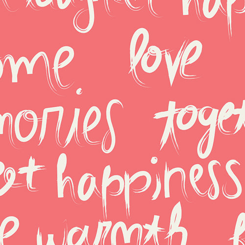 Image of To Live By Love in Pink - Art Gallery - Carolines Hulse - Happy Home