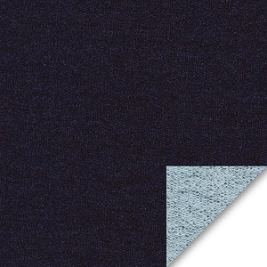 Image of French Terry in Indigo - Robert Kaufman - French Terry Knit