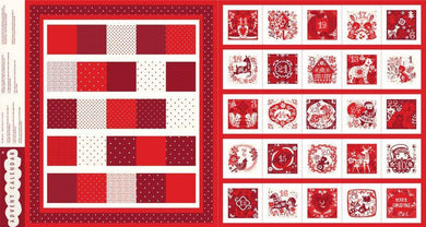 Image of Advent Calendar in Red - Dashwood Studio - Coco Gigi - Festive Magic