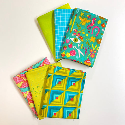 Electric Avenue Fat Quarter Bundle