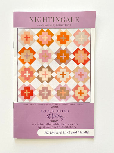 Nightingale Quilt Pattern - Lo & Behold Stitchery