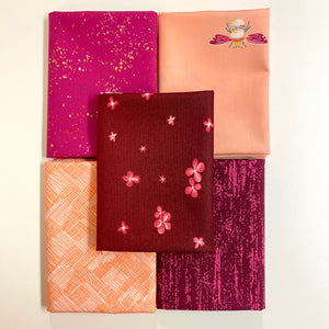 Peaches + Berries Fat Quarter Bundle