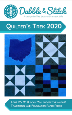 Our Ohio Pattern - Quilter's Trek 2020 - Dabble & Stitch