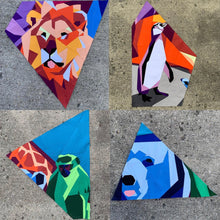 Load image into Gallery viewer, Zoo Family Portrait Block of the Month Quilt