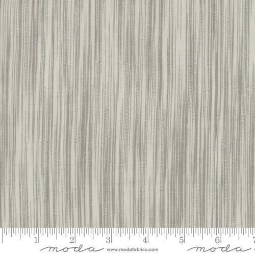 Boro Woven - Grey Brush Stripe - Moda - Boro Foundations - 12561 32