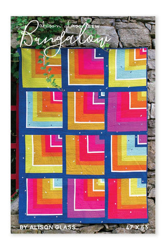 Bungalow Quilt Pattern - Alison Glass