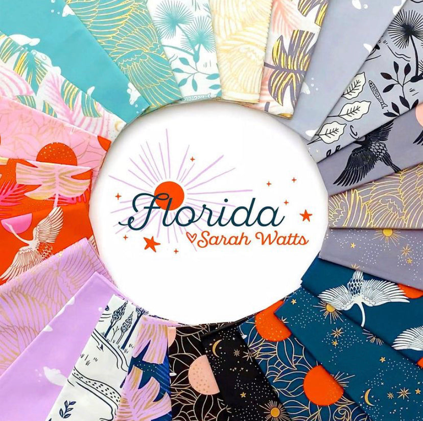 Florida Fat Quarter Bundle (23pc) - Ruby Star Society - Sarah Watts