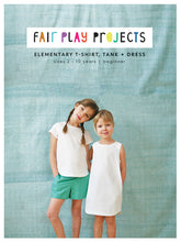 Load image into Gallery viewer, Elementary T-Shirt, Tank + Dress - Fair Play Projects