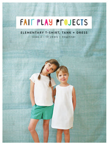 Elementary T-Shirt, Tank + Dress - Fair Play Projects