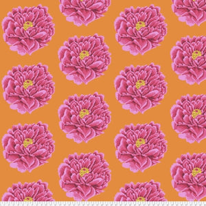 Full Bloom Wideback in pink - Free Spirit - Kaffe Fassett Collective - Kaffe Fassett Collective Fall 2018