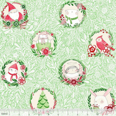 Glad Tidings in Green - Blend - Cori Dantini - Merry and Bright - 112.120.02.2
