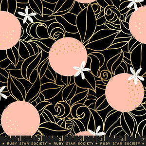 Image of Orange Blossoms in Black - Ruby Star Society - Sarah Watts - Florida - RS2025 15M