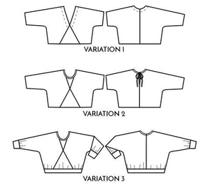 Pinnacle Top/Sweater - Papercut Patterns