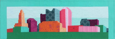 Image of Row By Row 2016 Columbus Skyline Pattern - Cassandra Beaver