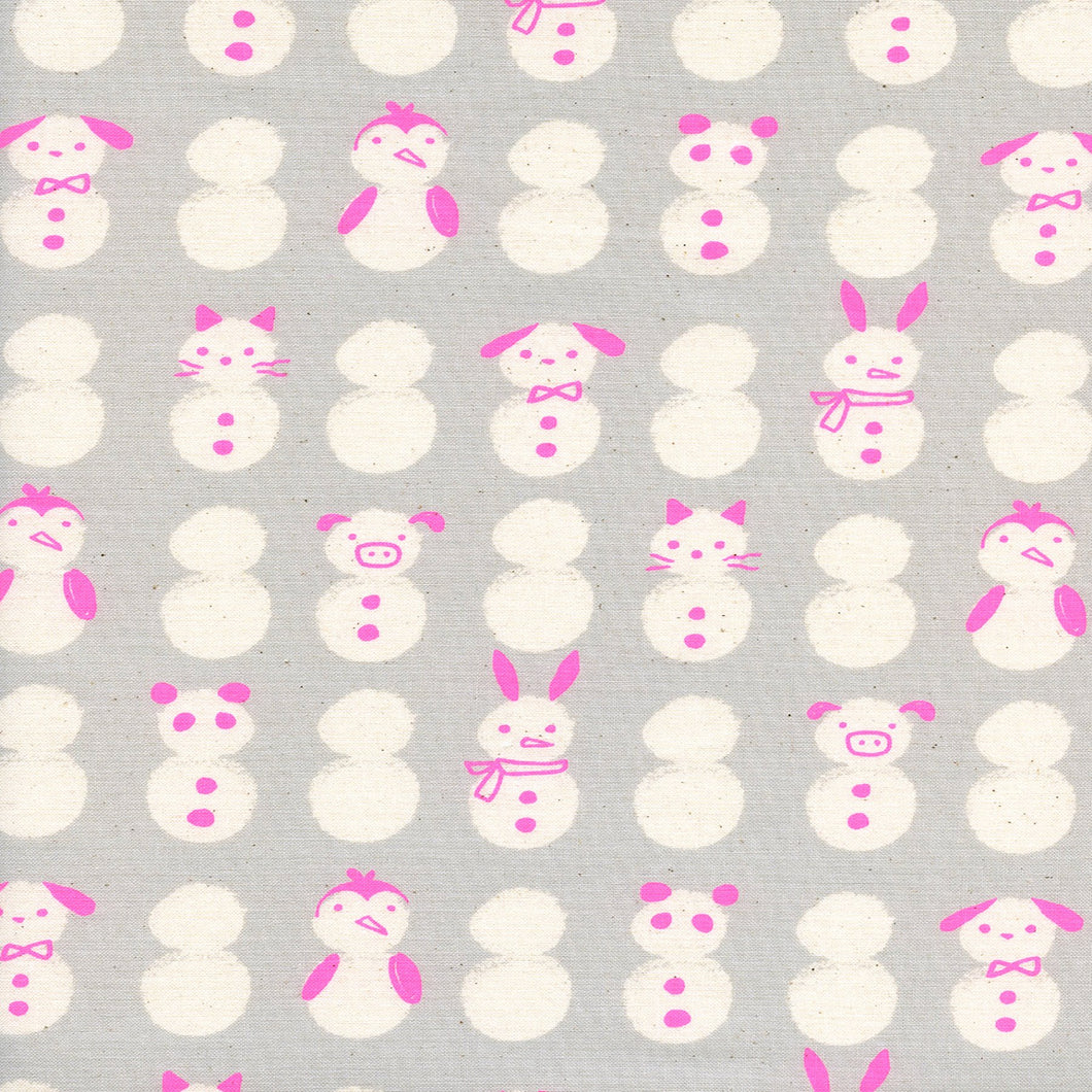 Snow Babies in Neon - Cotton and Steel - Sarah Watts - Noel - c5136-003