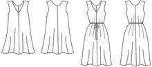 Load image into Gallery viewer, Sway Dress - Papercut Patterns