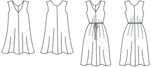 Sway Dress - Papercut Patterns