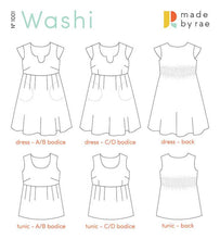 Load image into Gallery viewer, Washi Dress - Made By Rae