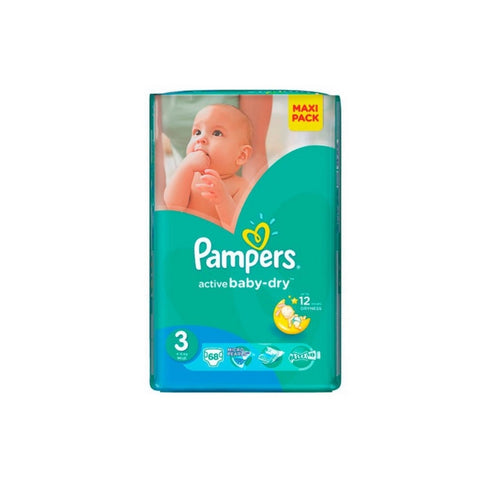 Sauskelnės PAMPERS 3 – 68 vnt.