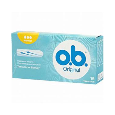 OB Original Normal tamponai 16vnt