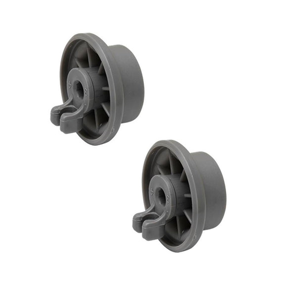 (2 Pack) ER165314 Dishwasher Lower Rack Roller Replaces 00165314