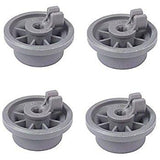 (4 Pack) ER165314 Dishwasher Lower Rack Roller Replaces 00165314