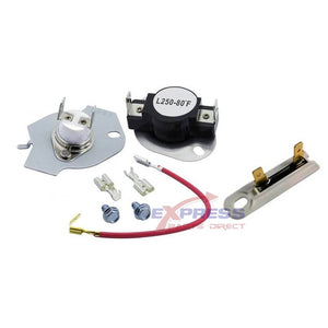 EXP279816 - EXP3392519 Thermostat & Thermal Fuse Set Replaces 279816, WP3392519